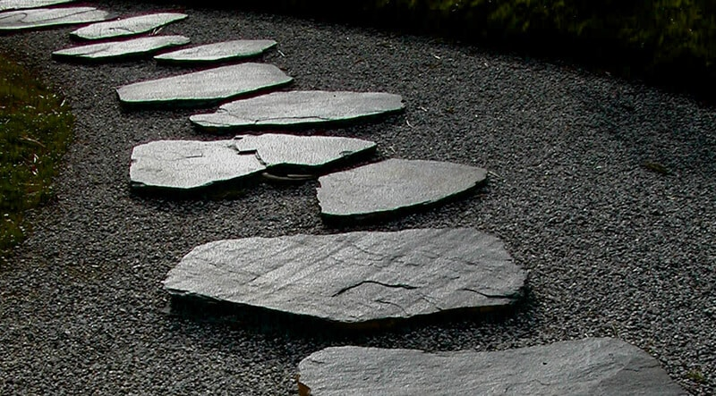 stepping stone path